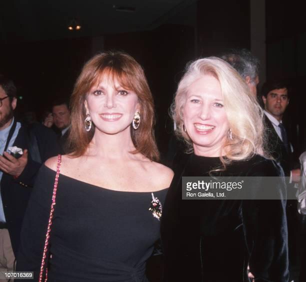 Marlo Thomas and Nancy Wexler during Marlo Thomas sighting at the Huntington's Benefit in New York City November 8 1989 at Dinosaur Club in New York...
