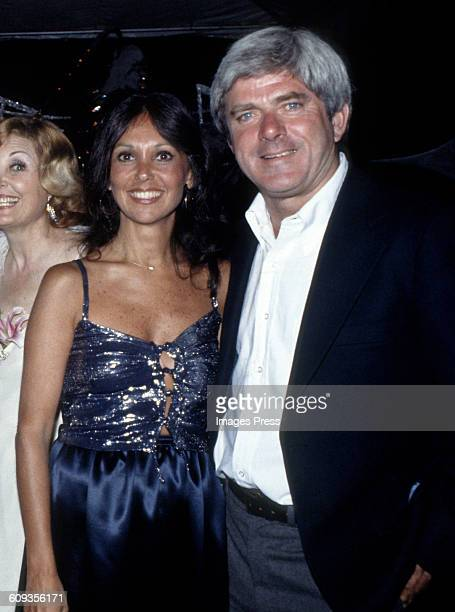 Marlo Thomas and Phil Donahue circa 1980 in New York City
