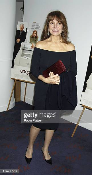 Marlo Thomas during Special Screening of 'Shopgirl' Hosted by Tina Brown and Harry Evans at The New Beekman Theatre in New York City New York United...