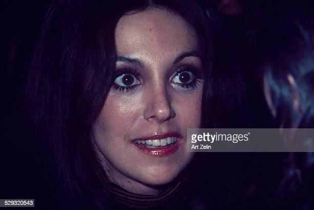 Marlo Thomas full face closeup circa 1970 New York