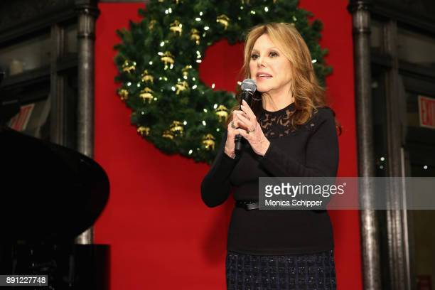 Marlo Thomas speaks onstage as Brooks Brothers celebrates the holidays with St Jude Children's Research Hospital on December 12 2017 in New York City