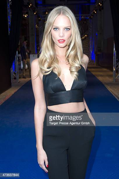 Marloes Horst attends the Maybelline celebration of its 100th anniversary at Kraftwerk on May 15 2015 in Berlin Germany