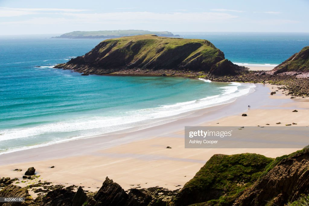 Marloes sands in Pembrokeshire, Wales, UK. : Stock Photo