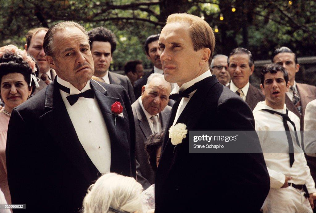 Godfather Wedding Scene Pictures Getty Images - Godfather Wedding Cake