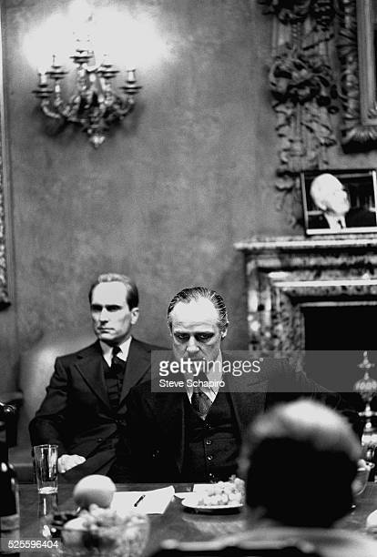 Marlon Brando and Robert Duvall in The Godfather Part II
