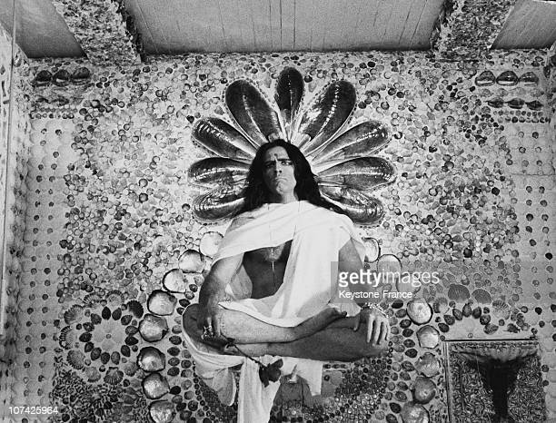 Marlon Brando As An Indian Ascetic At Rome In Italy On January 26Th 1968