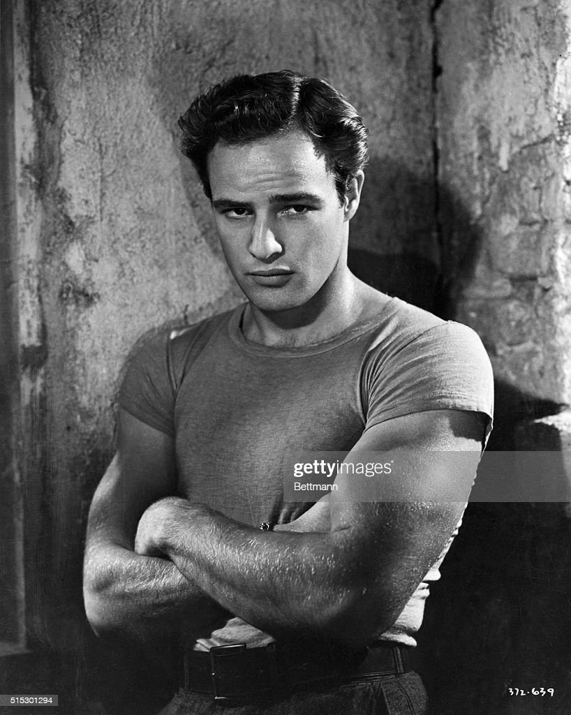 Marlon Brando as Stanley Kowalski : News Photo