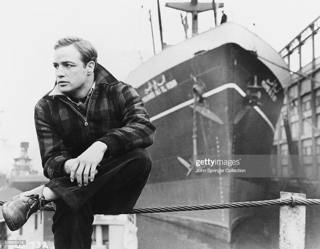 Marlon Brando in On the Waterfront : ニュース写真