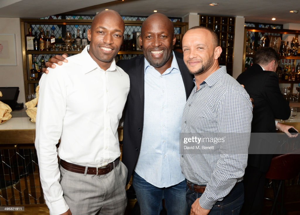 Colin Jackson Hosts Olympian Sports Quiz Night In Aid Of 'Go Dad Run' At The Club At The Ivy