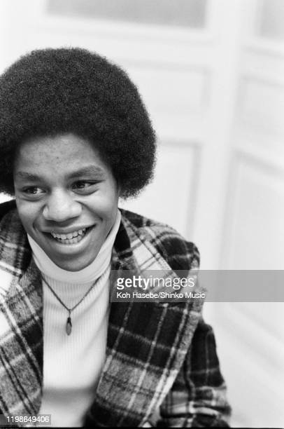 Marlon Jackson of the Jackson Five, interview at a hotel, Tokyo, Japan, 1973.