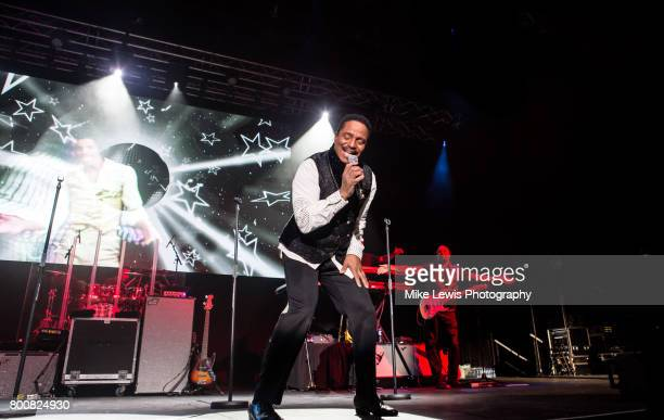 Marlon Jackson of The Jacksons performs at Motorpoint Arena on June 25 2017 in Cardiff Wales