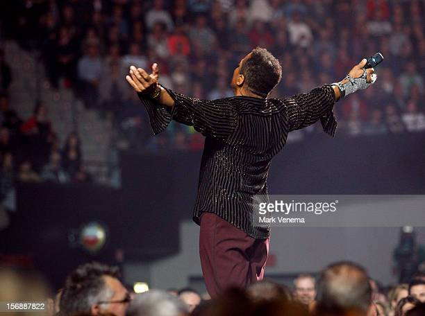 Marlon Jackson of The Jacksons performs at Night Of The Proms at Ahoy on November 23 2012 in Rotterdam Netherlands