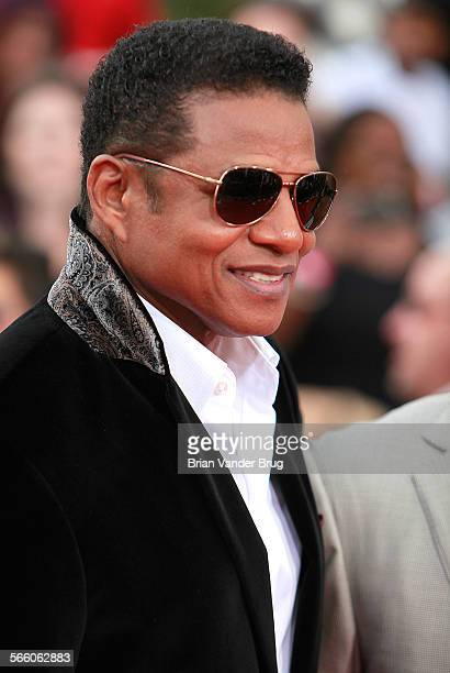 Marlon Jackson on the red carpet for the premiere of the Michael Jackson documentary ''This Is It' the film that features rehersal footage of the...