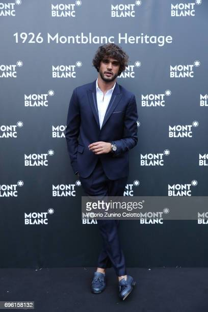 Marlon Luiz Teixeira attends '1926 Montblanc Heritage Launch event' on June 14 2017 in Florence Italy
