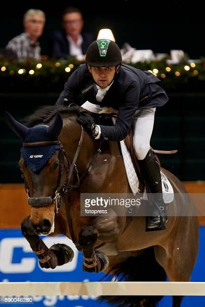 Marlon Modolo Zanotelli attends during CSI Casas Novas Horse Jumping Competition on December 10 2017 in A Coruna Spain