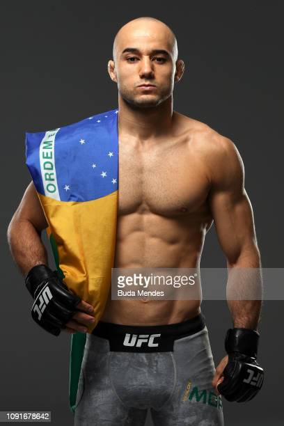 Marlon Moraes poses for a portrait during a UFC photo session on January 30 2019 in Fortaleza Brazil
