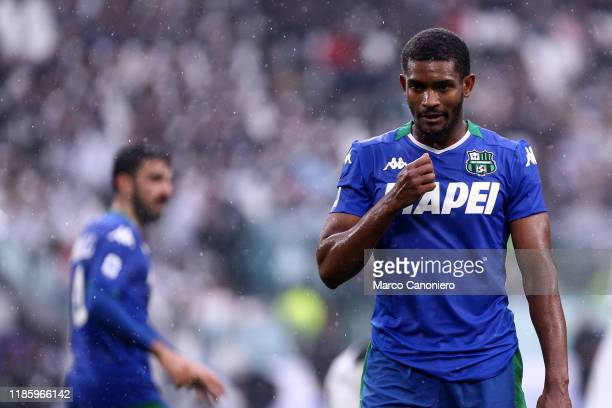 Marlon of Us Sassuolo Calcio during the the Serie A match between Juventus Fc and Us Sassuolo Calcio The match end in a tie 22