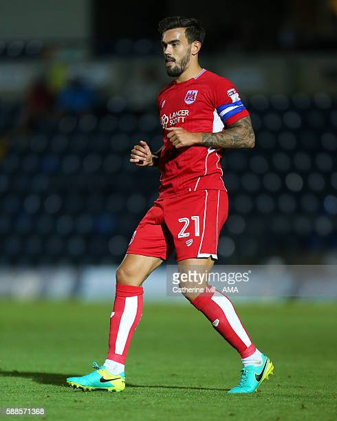 Marlon Pack of Bristol City during the EFL Cup match between Wycombe Wanderers and Bristol City at Adams Park on August 8 2016 in High Wycombe England