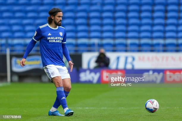 Marlon Pack of Cardiff City FC during the Sky Bet Championship match between Cardiff City and Rotherham United at Cardiff City Stadium on May 8, 2021...