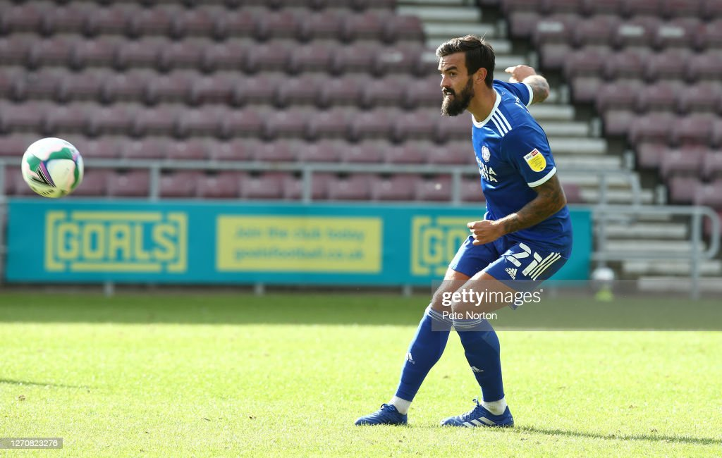 Northampton Town v Cardiff City - Carabao Cup First Round : News Photo
