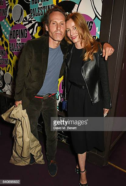 Marlon Richards and Lucie De La Falaise attend 'Hoping's Greatest Hits' the 10th anniversary of The Hoping Foundation's fundraising event for...