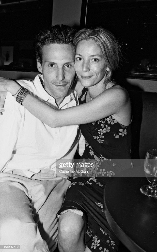 Marlon Richards And Lucie De La Falaise : News Photo