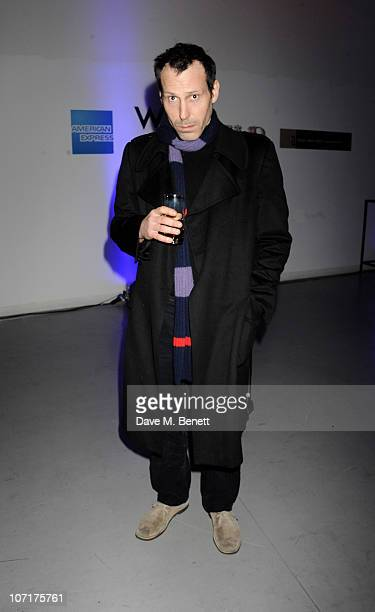 Marlon Richards at the Wyld bar Primal Scream after party hosted by W Hotels and American Express on November 27 2010 in London England