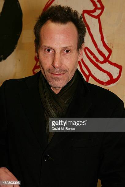 Marlon Richards attends a private view of 'A Strong Sweet Smell of Incense A Portrait of Robert Fraser' at the Pace Gallery on February 5 2015 in...