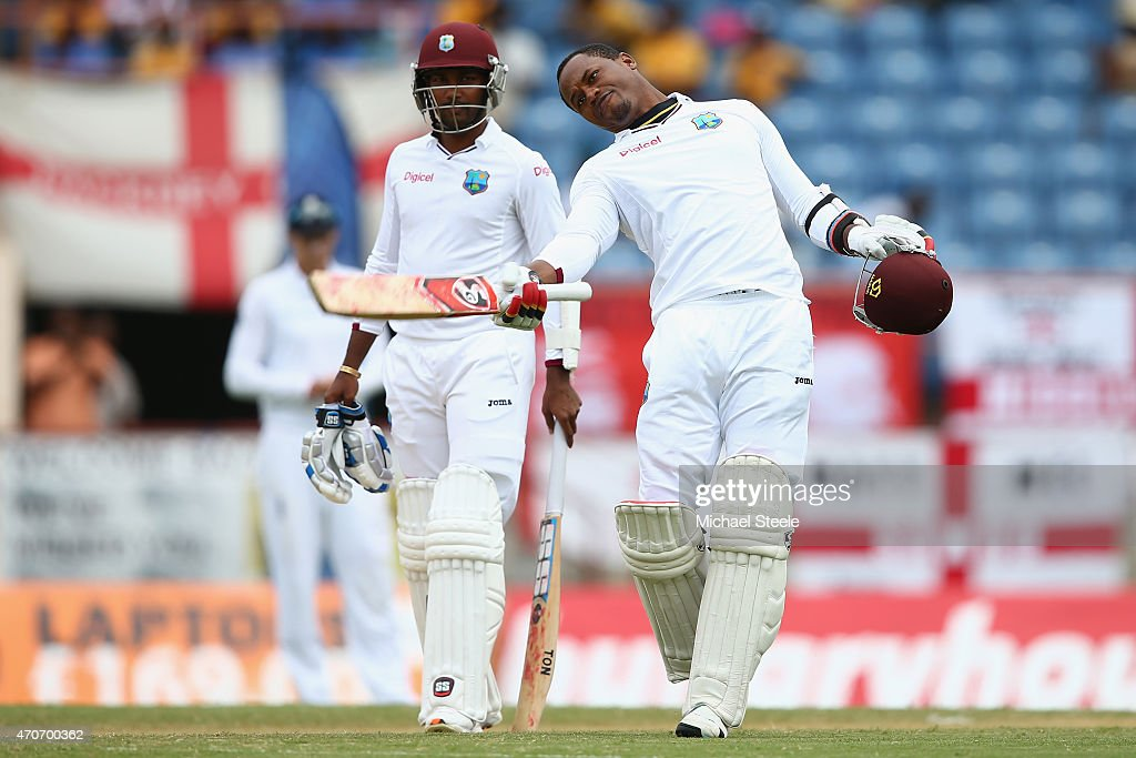 West Indies v England - 2nd Test: Day Two