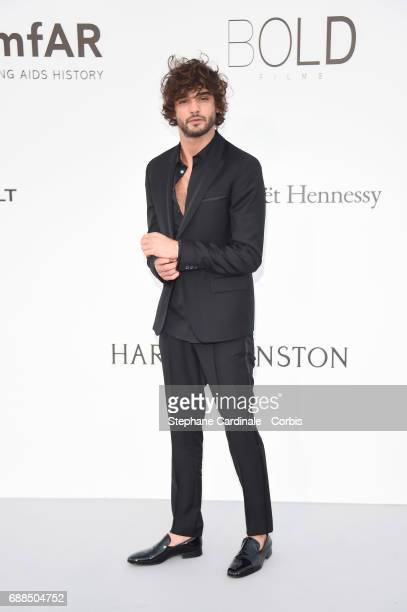 Marlon Teixeira arrives at the amfAR Gala Cannes 2017 at Hotel du CapEdenRoc on May 25 2017 in Cap d'Antibes France