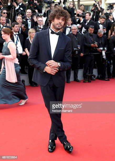Marlon Teixeira attends the 'The Beguiled' screening during the 70th annual Cannes Film Festival at Palais des Festivals on May 24 2017 in Cannes...