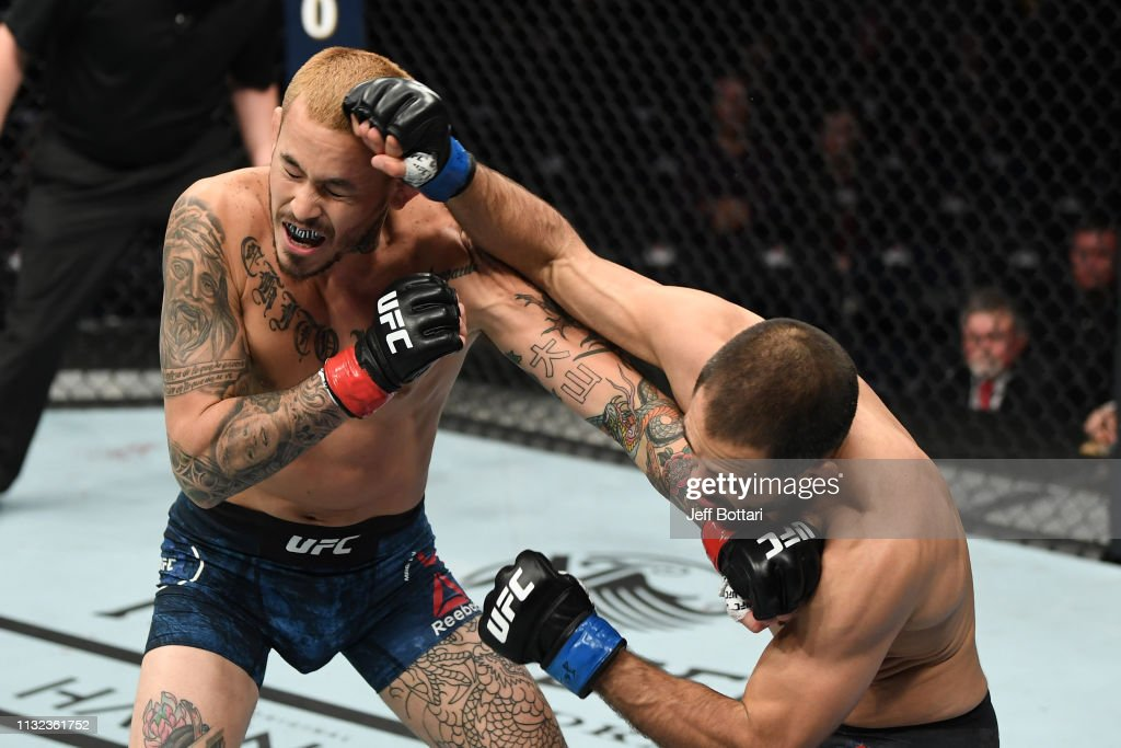 UFC Fight Night: Vera v Saenz : ニュース写真