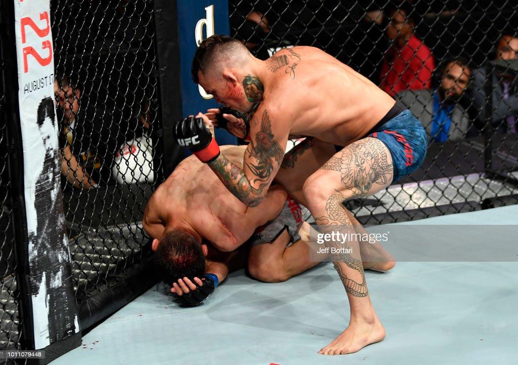UFC 227: Vera v Buren : News Photo