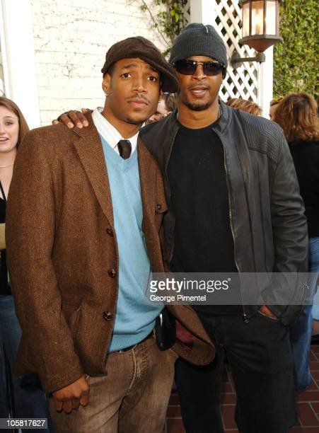 Marlon Wayans and Damon Wayans during Film Independent's 2006 Independent Spirit Awards IFC After Party at Shutters in Santa Monica California United...