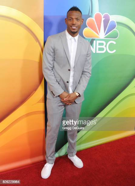 Marlon Wayans arrives at the 2017 Summer TCA Tour NBC Press Tour at The Beverly Hilton Hotel on August 3 2017 in Beverly Hills California