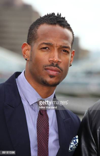 Marlon Wayans attends a Photocall to launch 'GI JOE The Rise Of Cobra' at HMS Belfast on July 22 2009 in London England