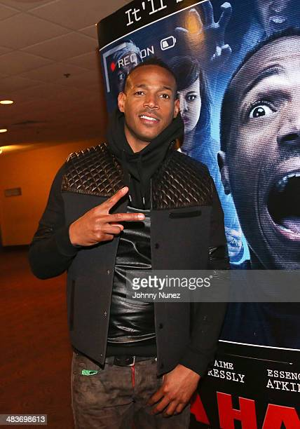 Marlon Wayans attends the 'A Haunted House 2' Screening at Chelsea Bow Tie Cinemas on April 9 2014 in New York City