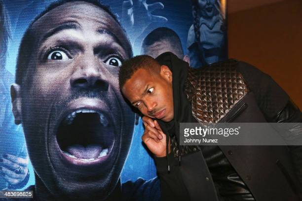 Marlon Wayans attends the A Haunted House 2 Screening at Chelsea Bow Tie Cinemas on April 9 2014 in New York City