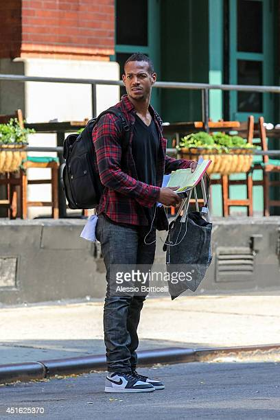 Marlon Wayans is seen leaving his hotel on July 2 2014 in New York City