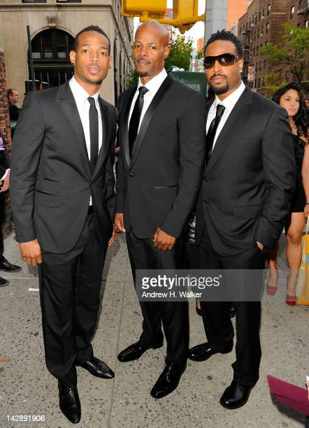 Marlon Wayans Keenen Ivory Wayans and Shawn Wayans attend the 10th Annual TV Land Awards at the Lexington Avenue Armory on April 14 2012 in New York...