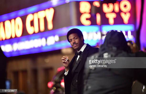 Marlon Wayans seen filming on location for 'Respect' at Rockefeller Center on November 8 2019 in New York City