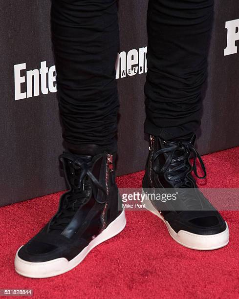 Marlon Wayans shoe detail attends the 2016 Entertainment Weekly People New York Upfront at Cedar Lake on May 16 2016 in New York New York