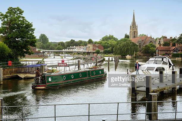 Marlow and the River Thames