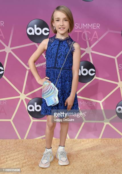Marlow Barkley arrives at ABC's TCA Summer Press Tour Carpet Event on August 5, 2019 in West Hollywood, California.