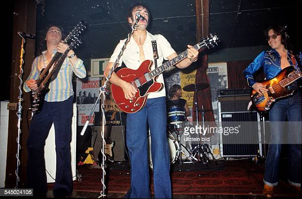 Marmalade Band Pop music UK performing in Hamburg Germany 1976