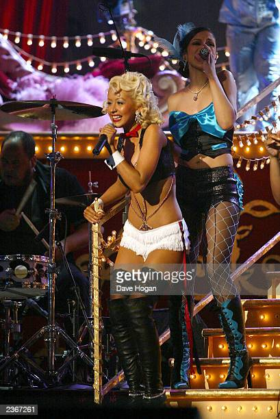 Marmalade Girls at the 44th Annual Grammy Awards at the Staples Center in Los Angeles Ca Feb 27 2002