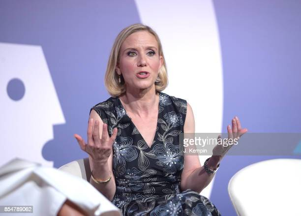Marne Levine attends the panel discussion for The Instagram Effect Where Business And Passions Meet at PlayStation Theater on September 27 2017 in...
