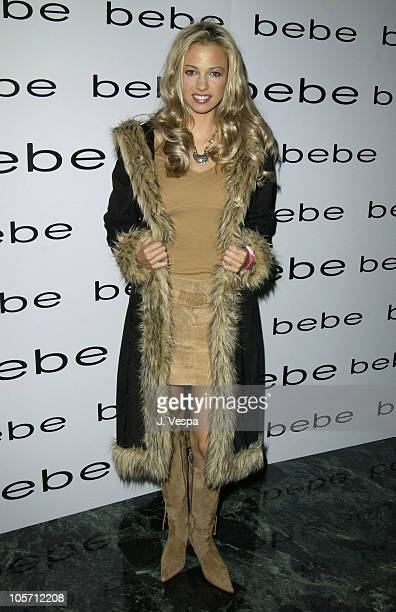 Marnette Patterson during bebe Presents the Debut of bebe Sport Collection Arrivals at The Standard in Los Angeles California United States