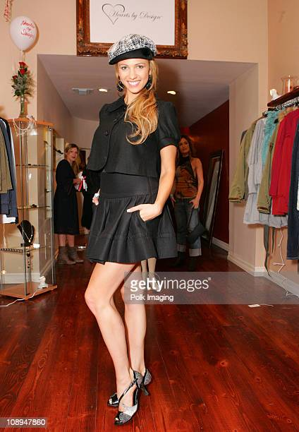 Marnette Patterson during Grand Opening of Blu Vintage Boutique at 1621 1/2 Montana Ave in Santa Monica California United States