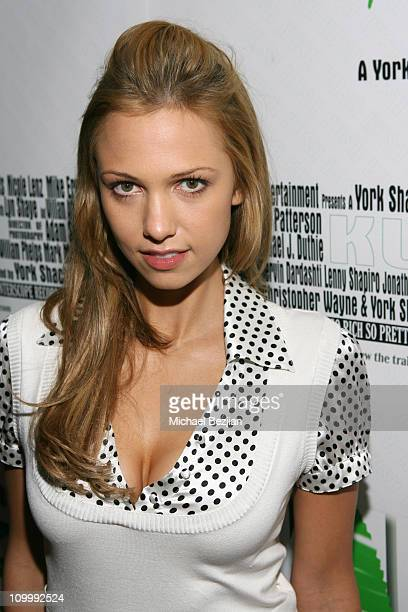 Marnette Patterson during Kush Premiere After Party at Camden Place in Beverly Hills California United States